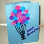 Thumbprint Balloons – Birthday Card