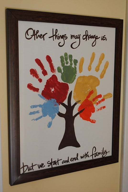 Handprint Family Tree Quote