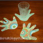 DIY Hand Shaped Coasters  Gift