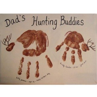 14 Last Minute Handprint Father's Day Crafts