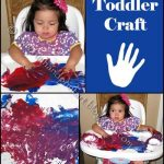 Toddler Craft – Sensory Exploration with Fingerpainting Fun!