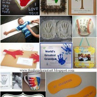12 Handprint Crafts to Make Grandpa for Grandparent's Day