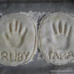 Salt Dough Handprint Keepsake Craft for Kids