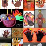Handprint & Footprint Turkey Crafts {Round Up}
