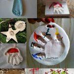 Handprint Ornament Keepsakes: 12 Day of Christmas Pinspiration