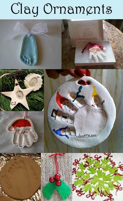 Handprint Ornament Keepsakes: 12 Day of Christmas Pinspiration - Fun ...