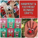 Reindeer Arts and Crafts for kids to make