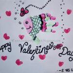 Handprint Fish Valentine's Day Craft