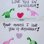 Valentine's Day Cards {Thumbprint Art}