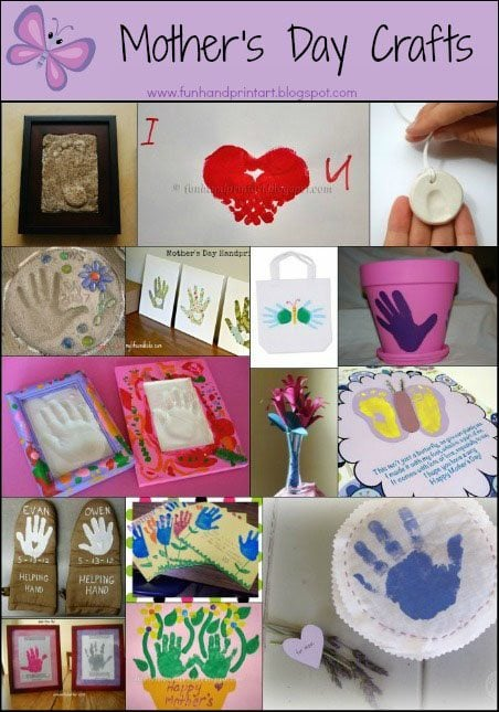 mothers day crafts pinterest 15 awesome s day handprint crafts for 5001