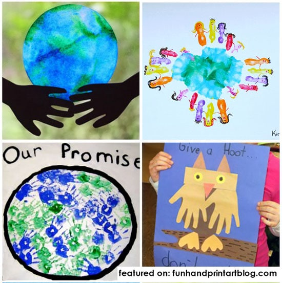 Kids Earth Day Craft Ideas