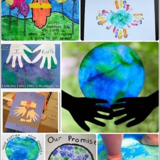 Celebrate Earth Day with Handprint Art!