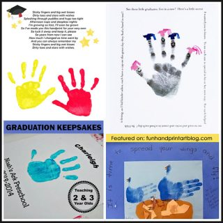 Handprint Graduation & End of the School Year Ideas