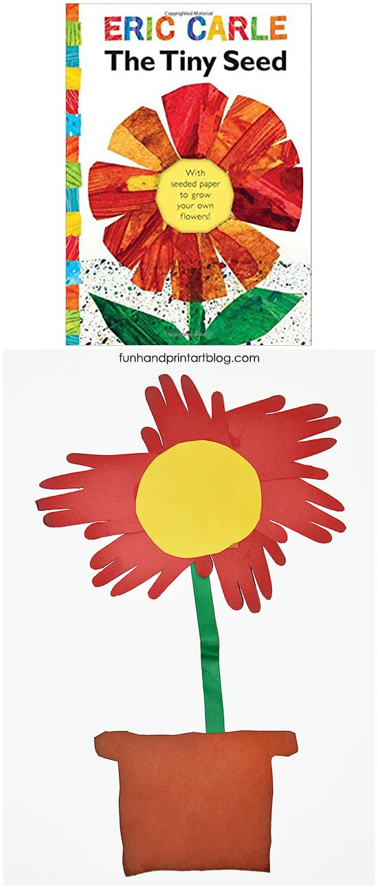 The Tiny Seed Book-inspired Craft - Eric Carle