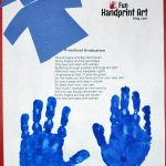 Keepsake Graduation Poem with Handprints