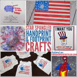 15+ Fun 4th of July Handprint Crafts, Shirts, Canvas, Flags, & more!