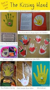 Activities and Crafts for The Kissing Hand - Back to School