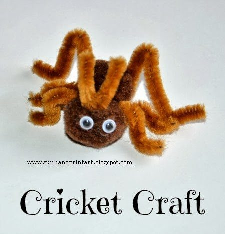 Cricket Craft for Kids #EEKologist