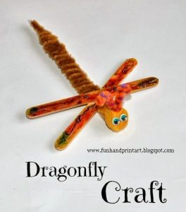 Dragonfly Craft for Kids #EEKologist