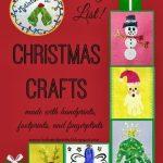 Handprint & Footprint Christmas Crafts {Master List}