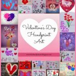 Valentine's Day Handprint and Footprint Crafts {Master List}