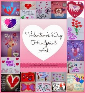 Handprint and Footprint Valentine's Day Crafts for Kids