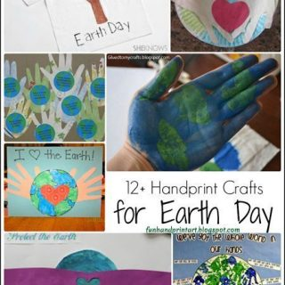 Earth Day Handprint Crafts for Kids