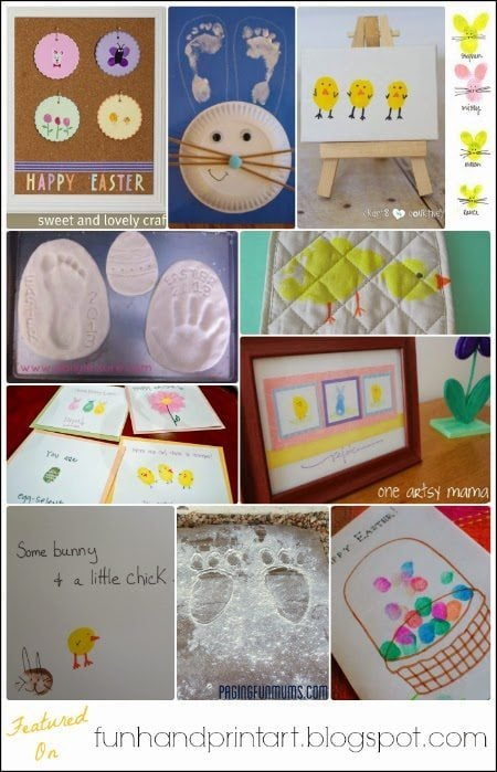 30+ Easter Handprint Art & Crafts