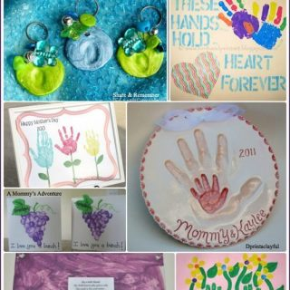 50 Handprint Keepsakes to Make Mom for Mother's Day