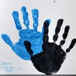 The Best Dads Get Promoted to Grandpa {Free Printable Handprint Craft}
