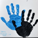 The Best Dads Get Promoted to Grandpa {handprint craft for Father's Day}