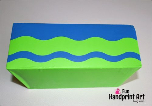 Frogtape Shape Tape Wave Pattern