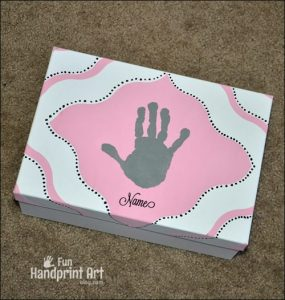 Kids Keepsake Box Tutorial