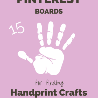 15 Awesome Pinterest Boards for finding Handprint Crafts