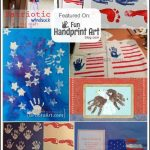 Patriotic Handprint Crafts for the 4th of July