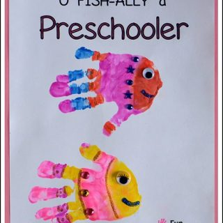 Free 1st Day of School Handprint Printables for Preschool – 1st Grade