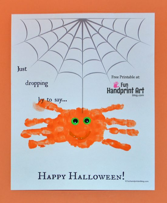 Free Printable Spider Webs for making Handprint Spiders - Fun ...