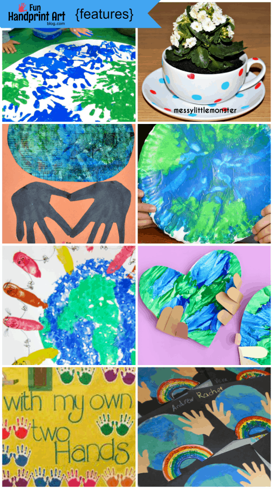 Earth Day Handprint Crafts