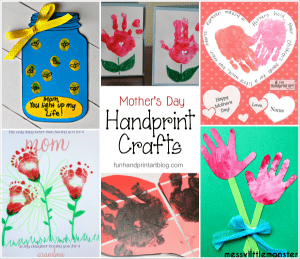 Handmade Mother's Day Cards from Kids