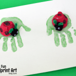 Recycled Egg Carton Ladybug Craft