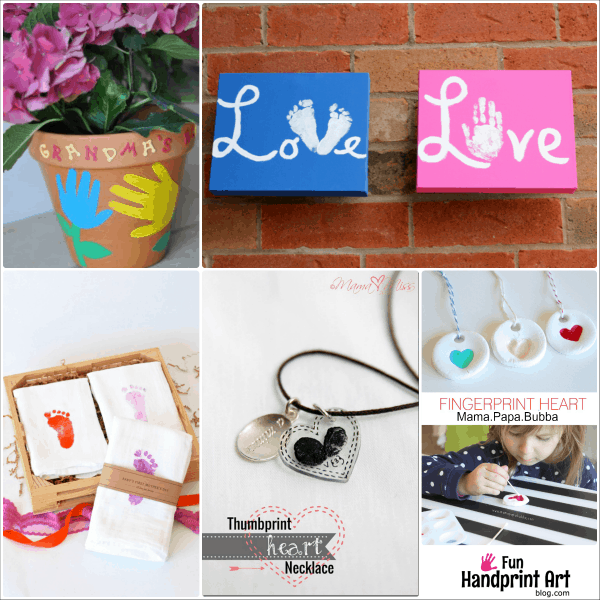 16 handmade mother 39 s day gifts from kids fun handprint art for Homemade mothers day gifts from toddlers
