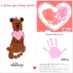 Free Printable Mother's Day Handprint Crafts