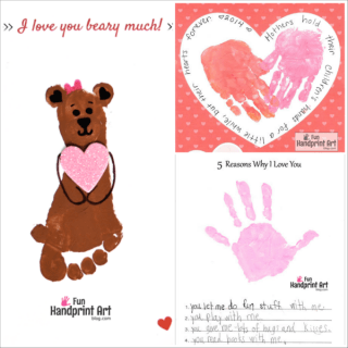 Free Mother's Day Handprint Printables