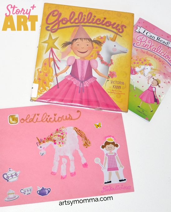 Godilicious & Pinkilicious Book Craft