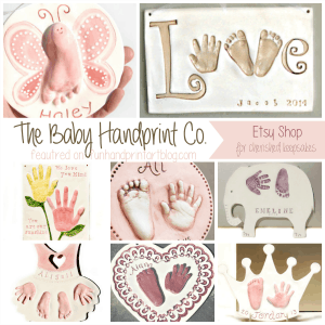 The Baby Handprint Co Etsy feature on funhandprintartblog.com