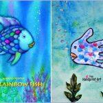 Rainbow Fish Book and Handprint Craft