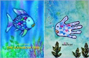 The Rainbow Fish Book & Handprint Craft