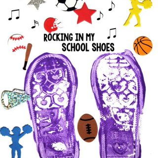 Shoe Print Craft – Rocking in My School Shoes