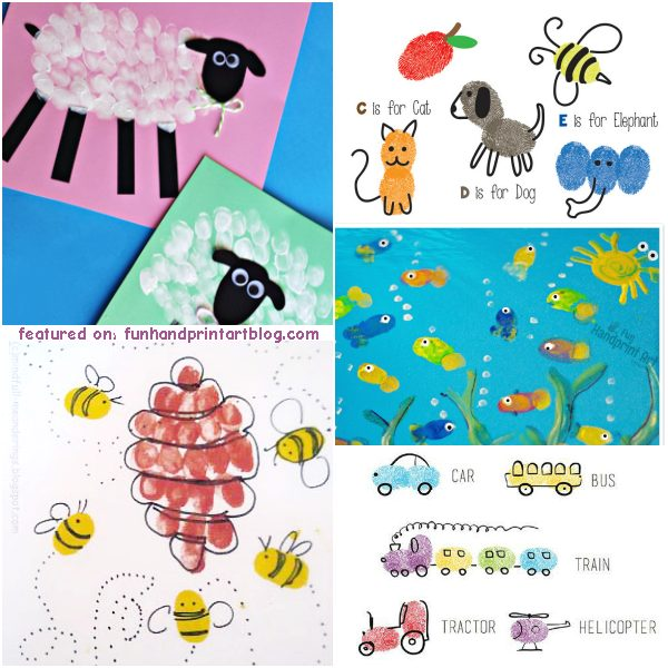 Fun Fingerprint & Thumbprint Art for Kids