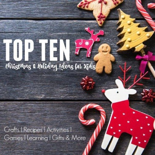 Top 10 Lists for Christmas with Kids